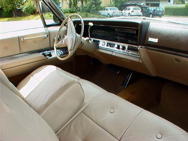 1967 Cadillac Colors And Interiors