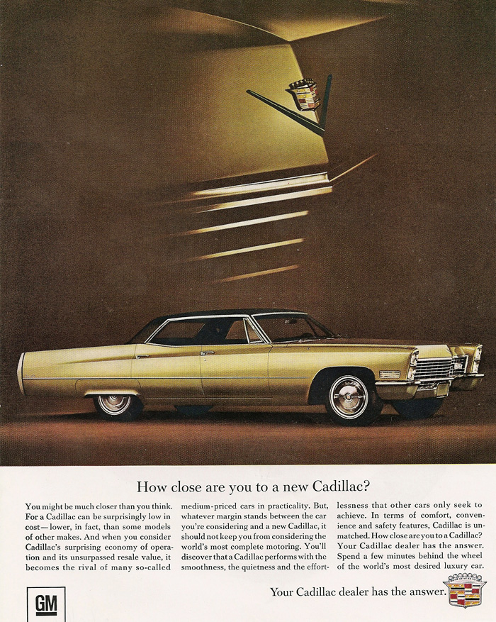 All The 1967 Cadillac Ads That Were Ever Produced Www