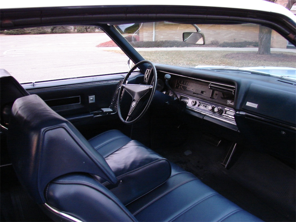 1967 Cadillac Colors And Interiors Including Color Charts