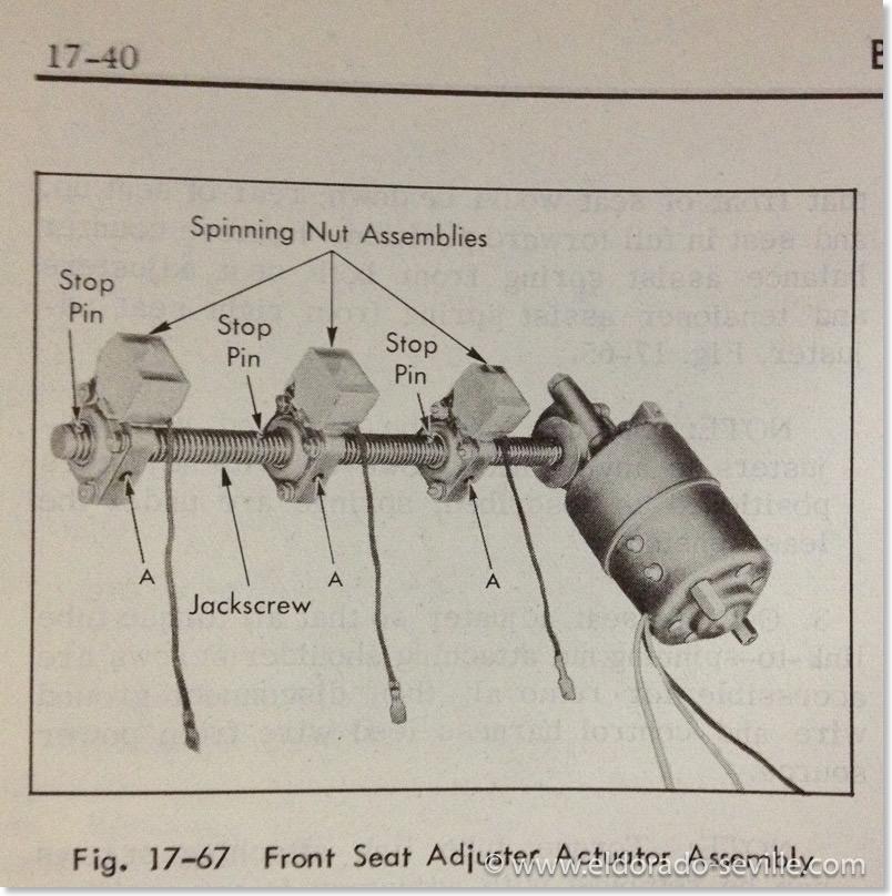 diagnosis chart geralds 1958 cadillac eldorado seville