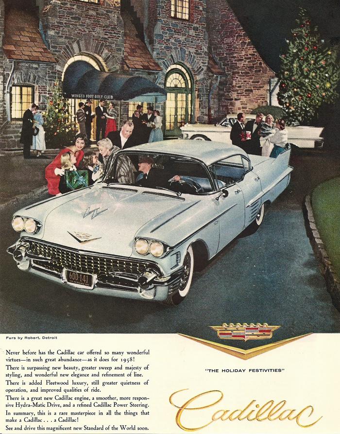 1967 Cadillac Eldorado >> 1958 Cadillac Ads - www.eldorado-seville.com