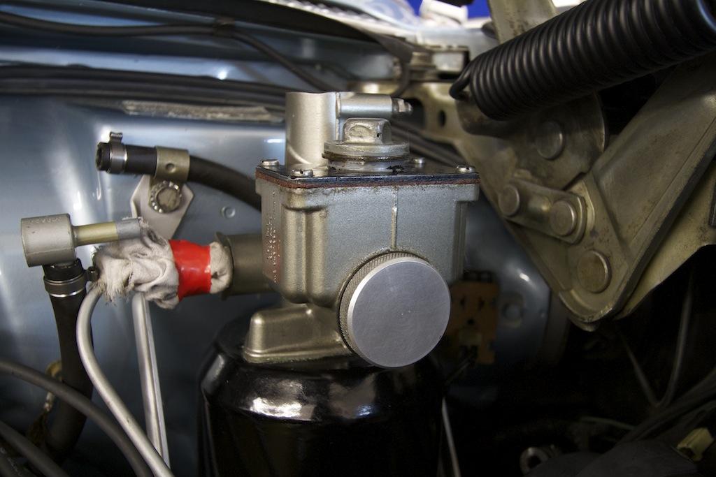 Repairing The Treadle Vac Master Cylinder And Brake