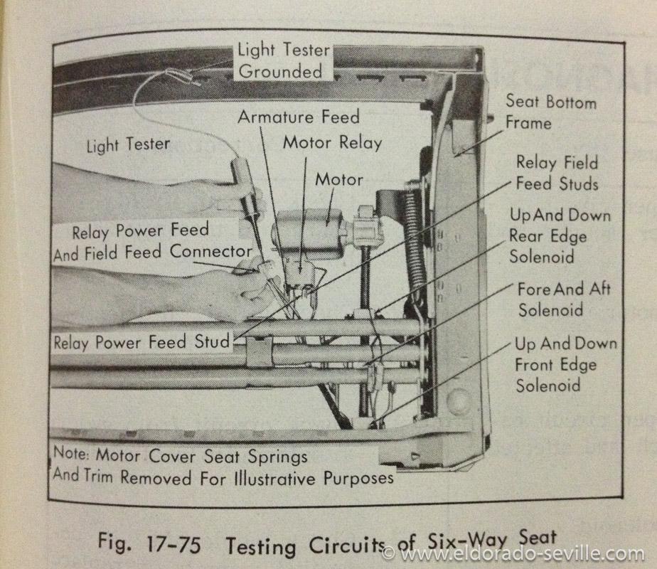 1958 cadillac power seat wiring diagram  1958  get free
